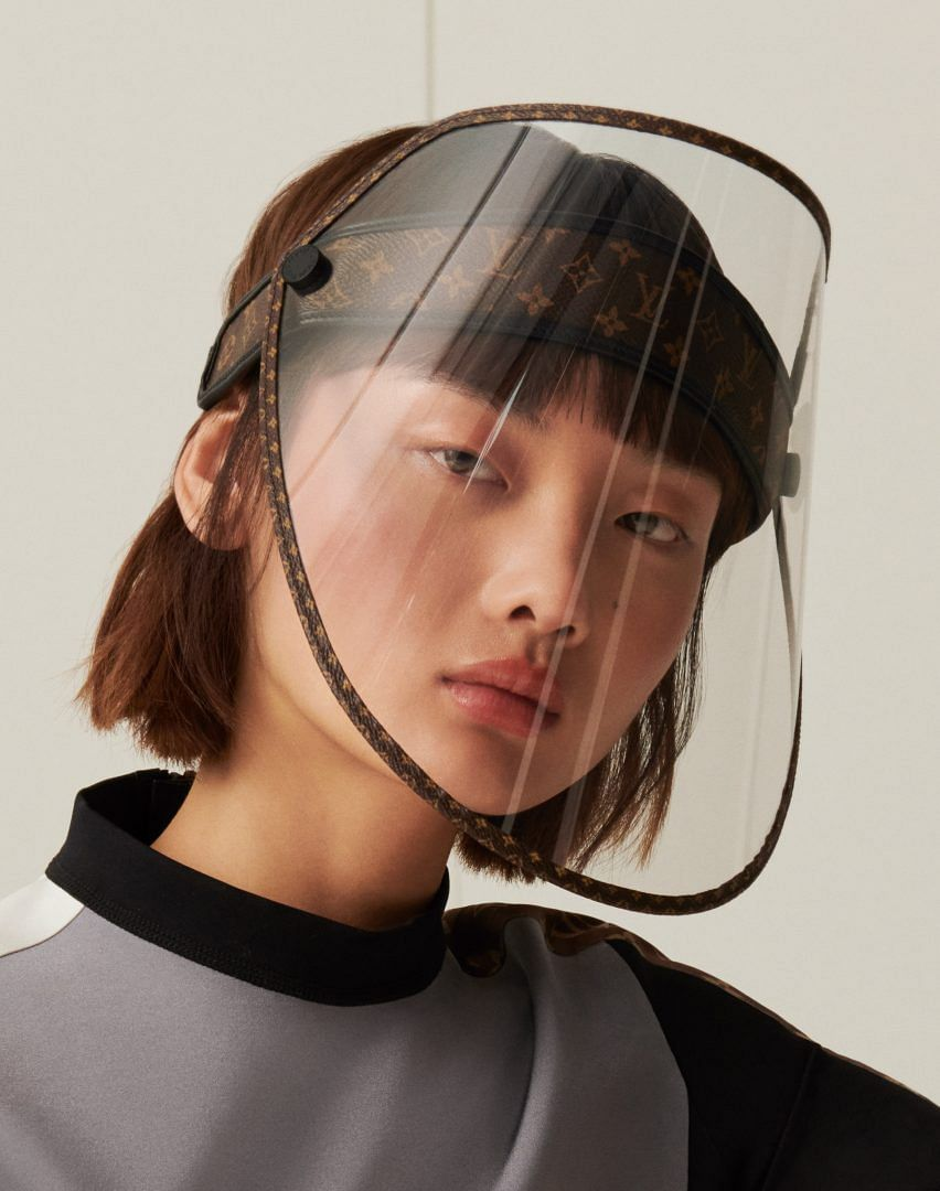 LV's face shield that will retail for about Rs 70,000.