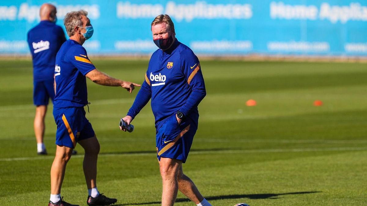 Barcelona Start Training Under New Coach, Lionel Messi Absent