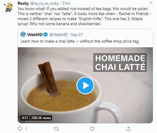 Watch: This Recipe of 'Chai Latte' Has Got Desi Twitter Raging
