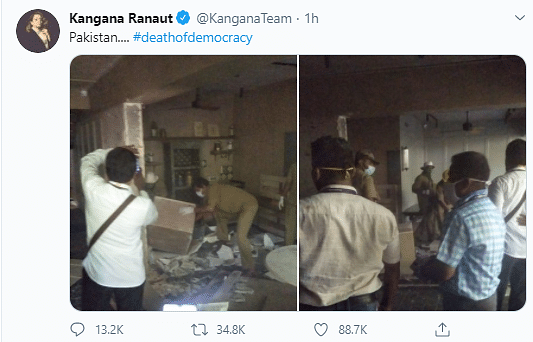 Here's How Netizens Feel About Kangana Ranaut's Office Demolition