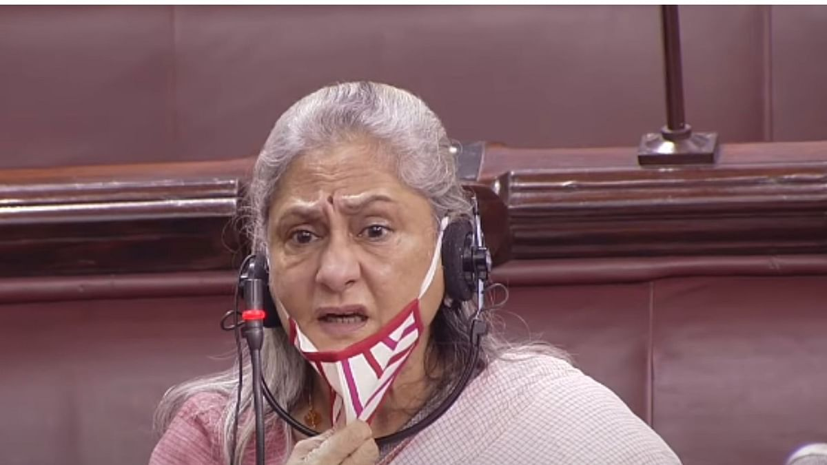 Watch: Jaya Bachchan Refuses To Wear  Mask In Rajya Sabha