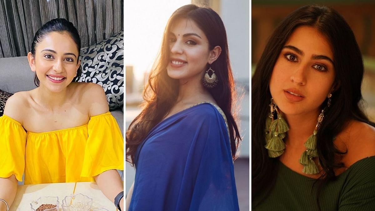 Rakul Preet Singh, Rhea Chakraborty, Sara Ali Khan.