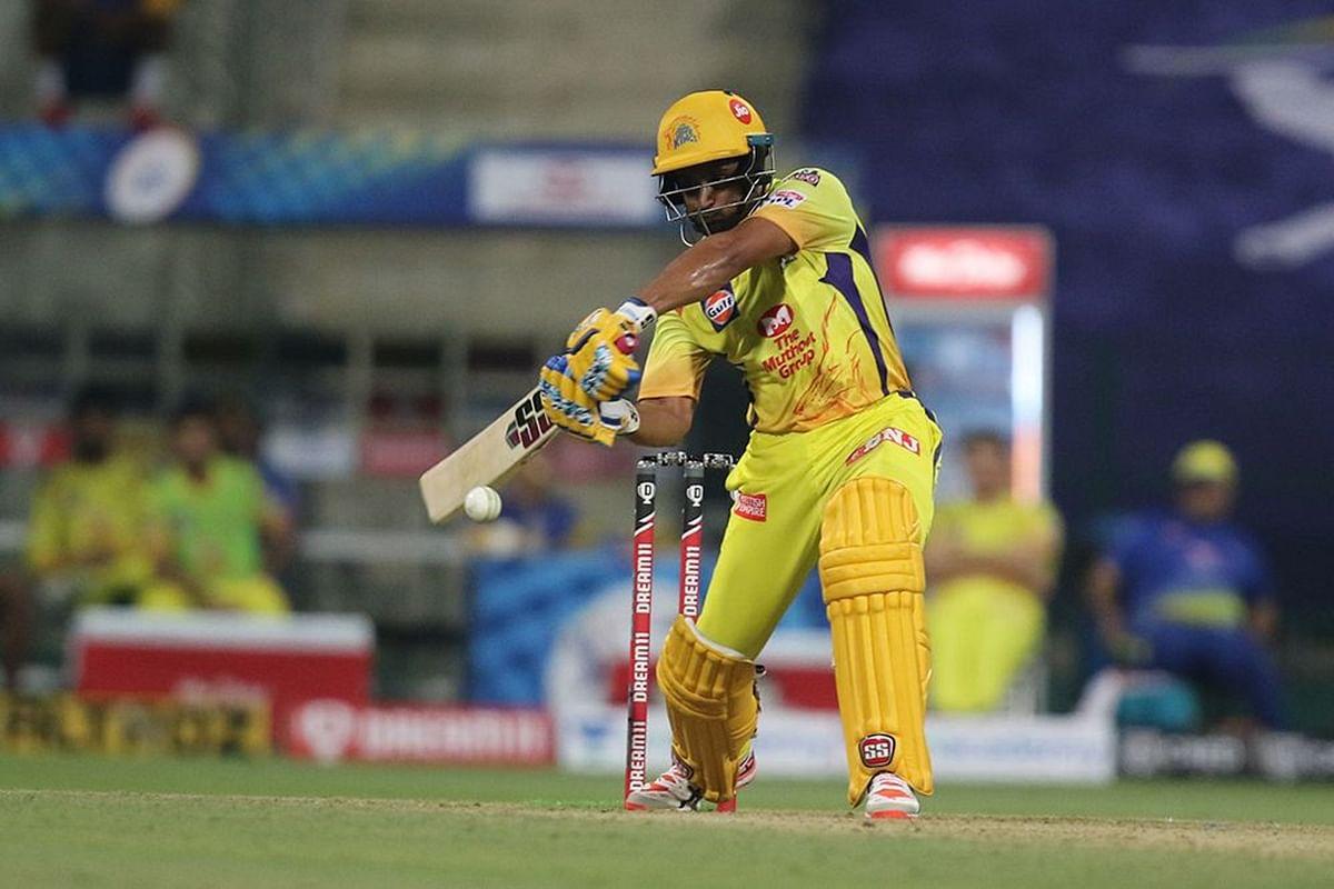 Chennai Super Kings' Ambati Rayudu scored the first half-century of this IPL off 33 balls