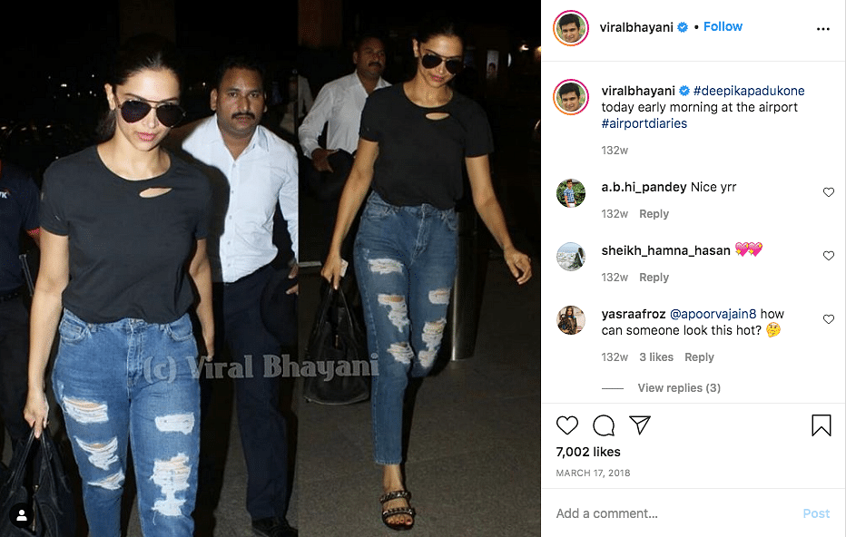 Deepika Wore T-Shirt Supporting Farmers? No, It's an Altered Image