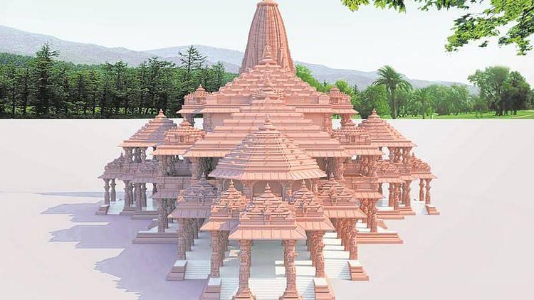 The proposed Ram Mandir.