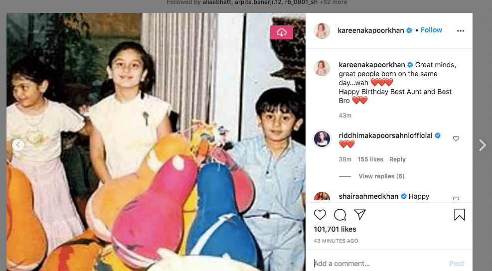 Riddhima, Alia Have Special Wishes For Ranbir on His Birthday