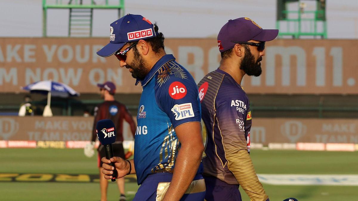IPL 2020: KKR Win Toss, Elect to Field First vs Mumbai Indians
