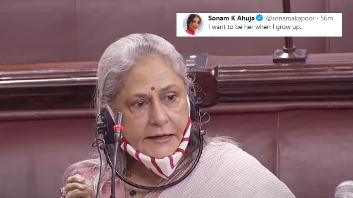 Jaya Bachchan is being applauded  on Twitter.
