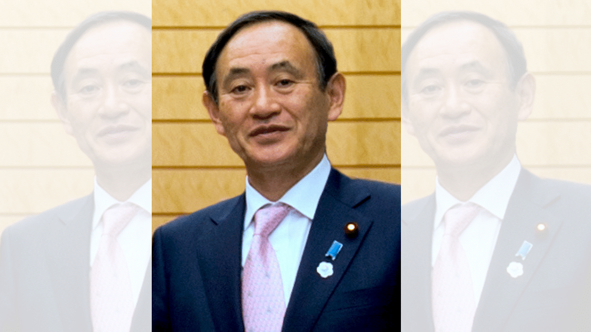 Japan's Chief Cabinet Secretary Yoshihide Suga was on Monday elected as the new leader of the ruling Liberal Democratic Party.