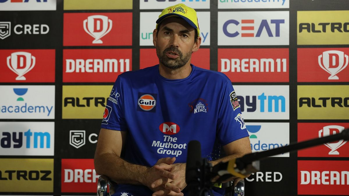 IPL 2020: Stephen Fleming Reveals Why MS Dhoni Batted at Number 7