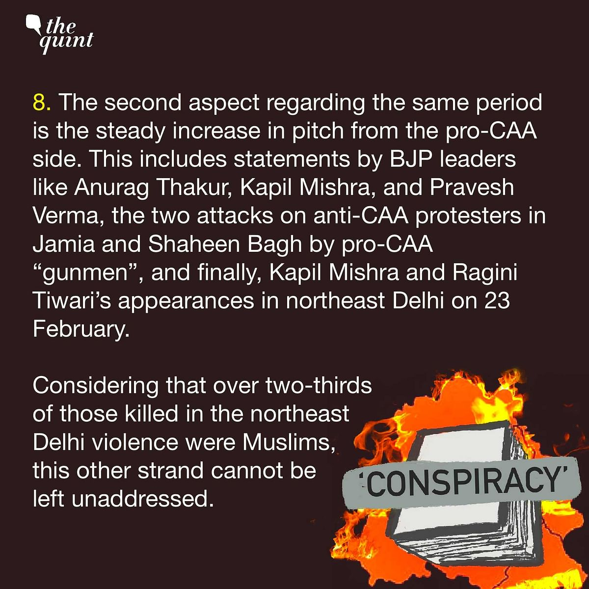 Delhi Riots: 8 Major Gaps in Police's 'Conspiracy' Charge Sheet