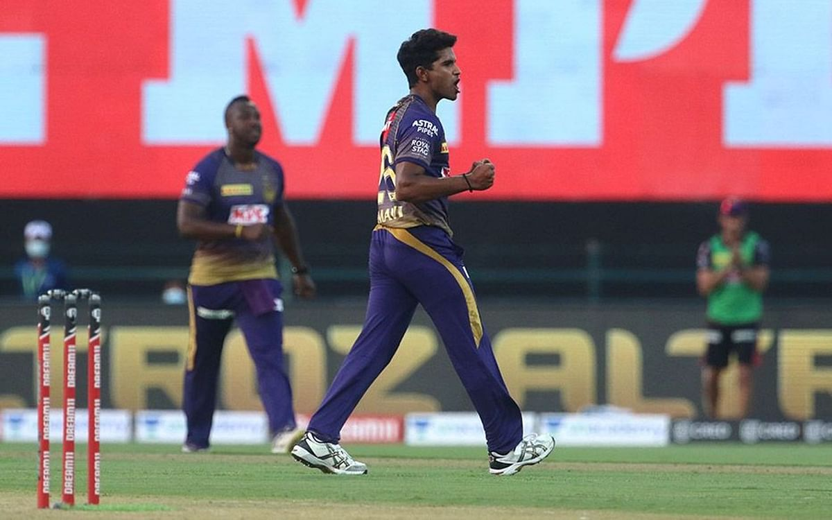 Kolkata Knight Riders' fast bowler Shivam Mavi bowled a wicket-maiden against Mumbai Indians in his side's first game of the IPL 2020