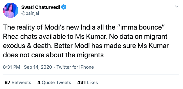 Data on Umar, SSR, But None on Migrant Workers: People Tweet Shock