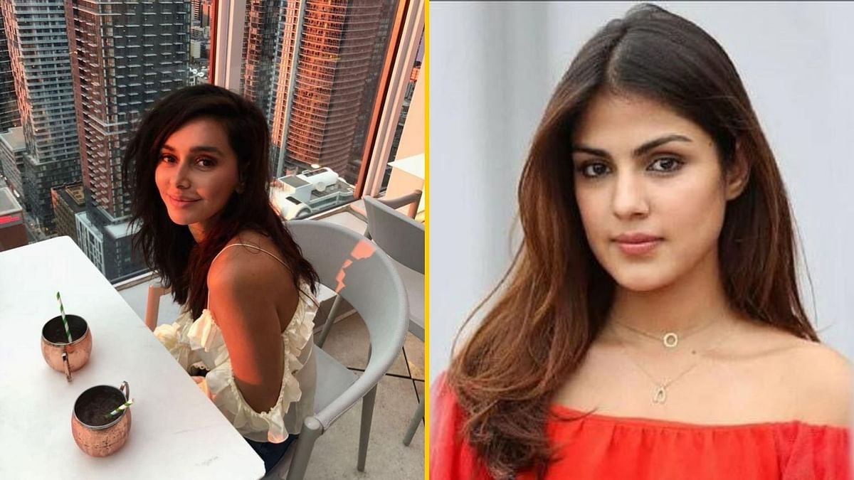 Shibani Dandekar pens a note for Rhea Chakraborty.