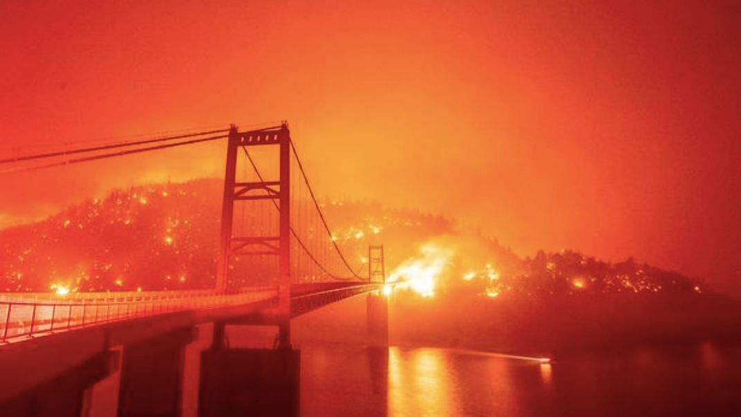 At least 10 people have died in California amid ravaging wildfires, and five others have lost their lives owing to the same reason in Washington State and Oregon.