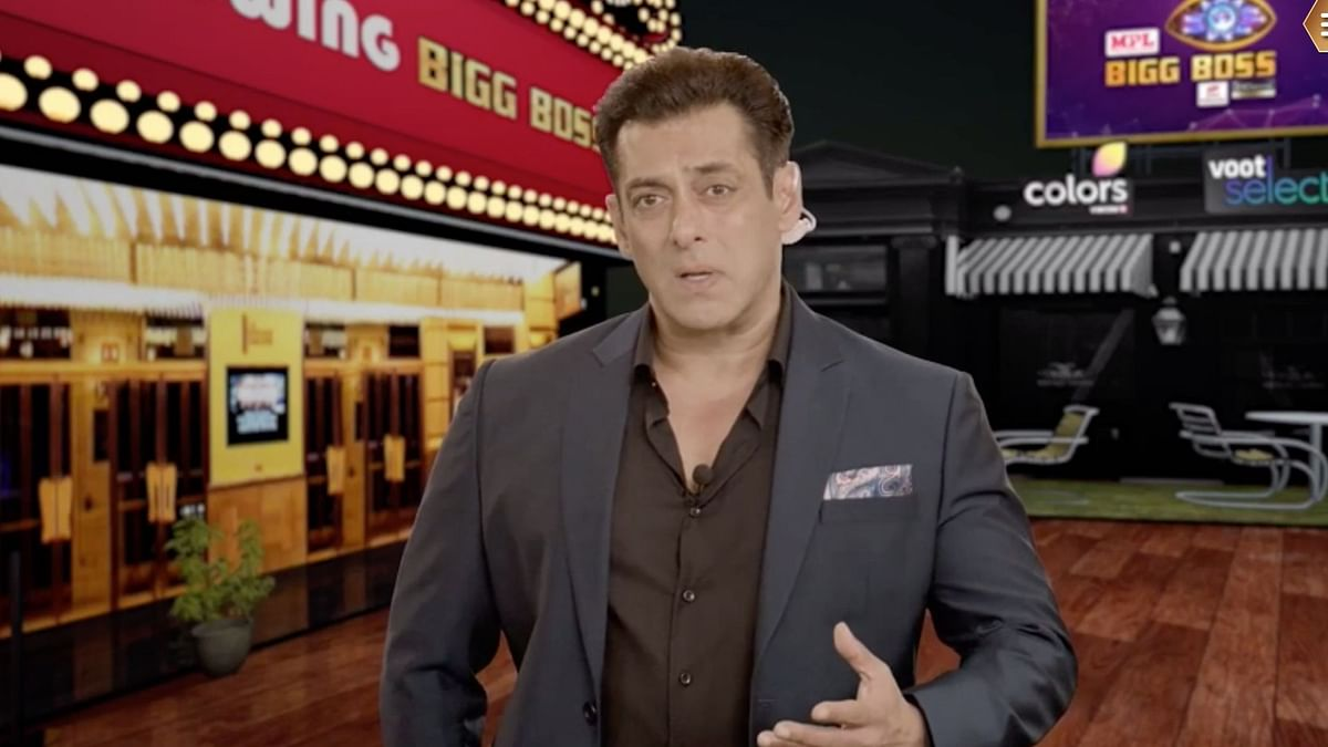 Salman Khan takes the stage to explain the safety protocols for Bigg Boss 14.