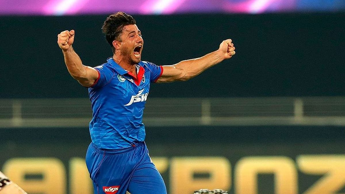 Marcus Stoinis starred for Delhi Capitals in their first game, performing with both bat and ball