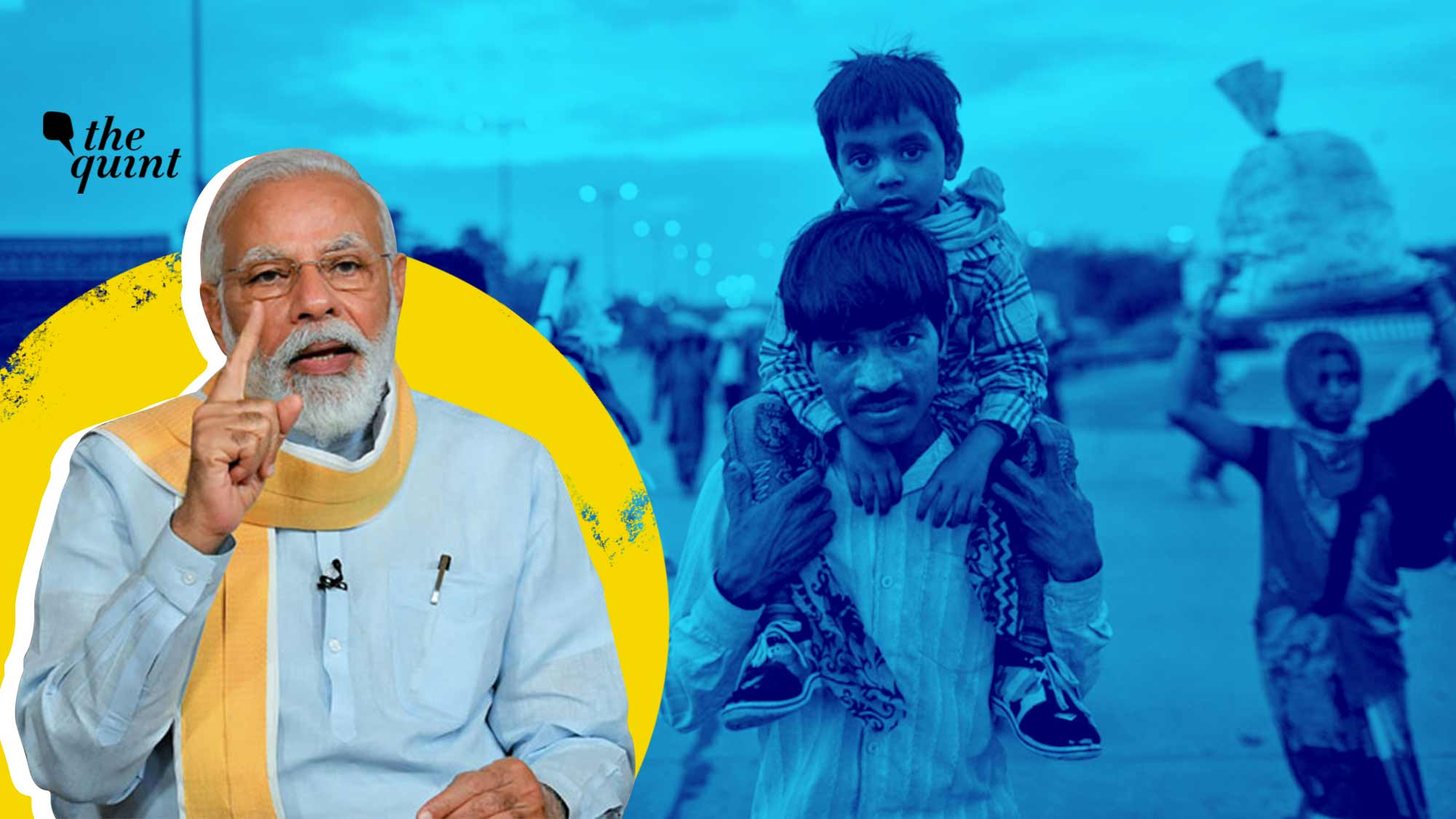 Modi Govt Blames Fake News for Migrant Exodus. No, It Was Hunger