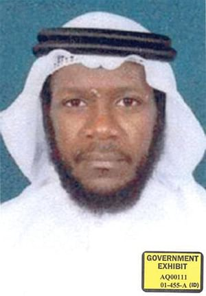 An undated photo of Mustafa Ahmed al-Hawsawi in US government files.
