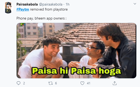 Twitter Mourns With Memes After Google Play Store Removes Paytm