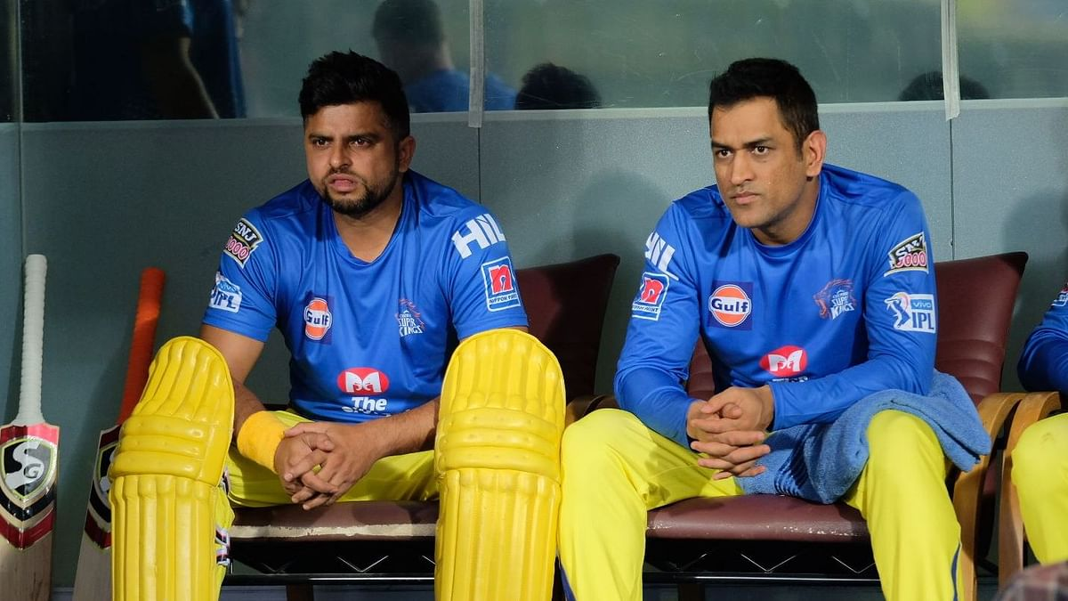 Suresh Raina posts a message on Twitter for his CSK team-mates ahead of the IPL 2020 season-opener.