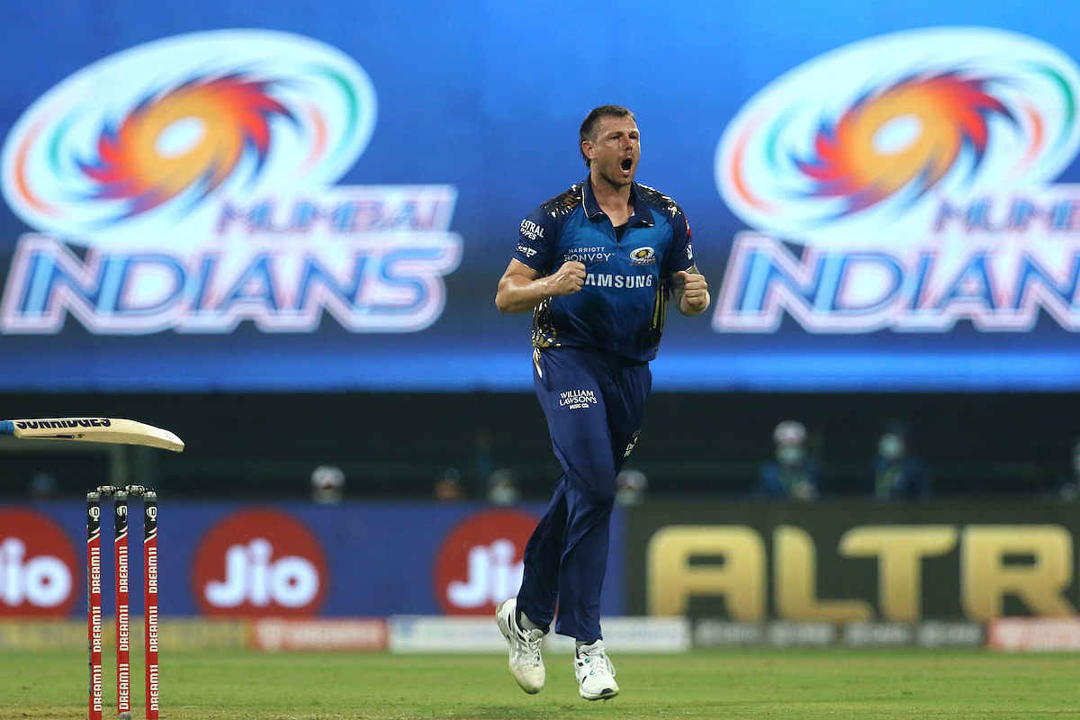 James Pattinson, who got a nod ahead of Nathan Coulter-Nile, made his IPL debut, playing for Mumbai Indians
