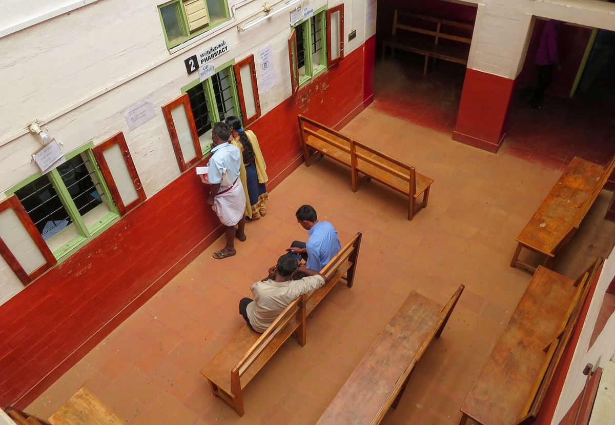 The Gudalur Adivasi Hospital in the Nilgiris district –this is where young women like Kanaka and Suma come seeking reproductive healthcare, sometimes when it's too late
