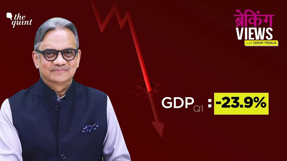 What Does the 23.9% Fall in GDP Mean? Analysing India's Worst Drop