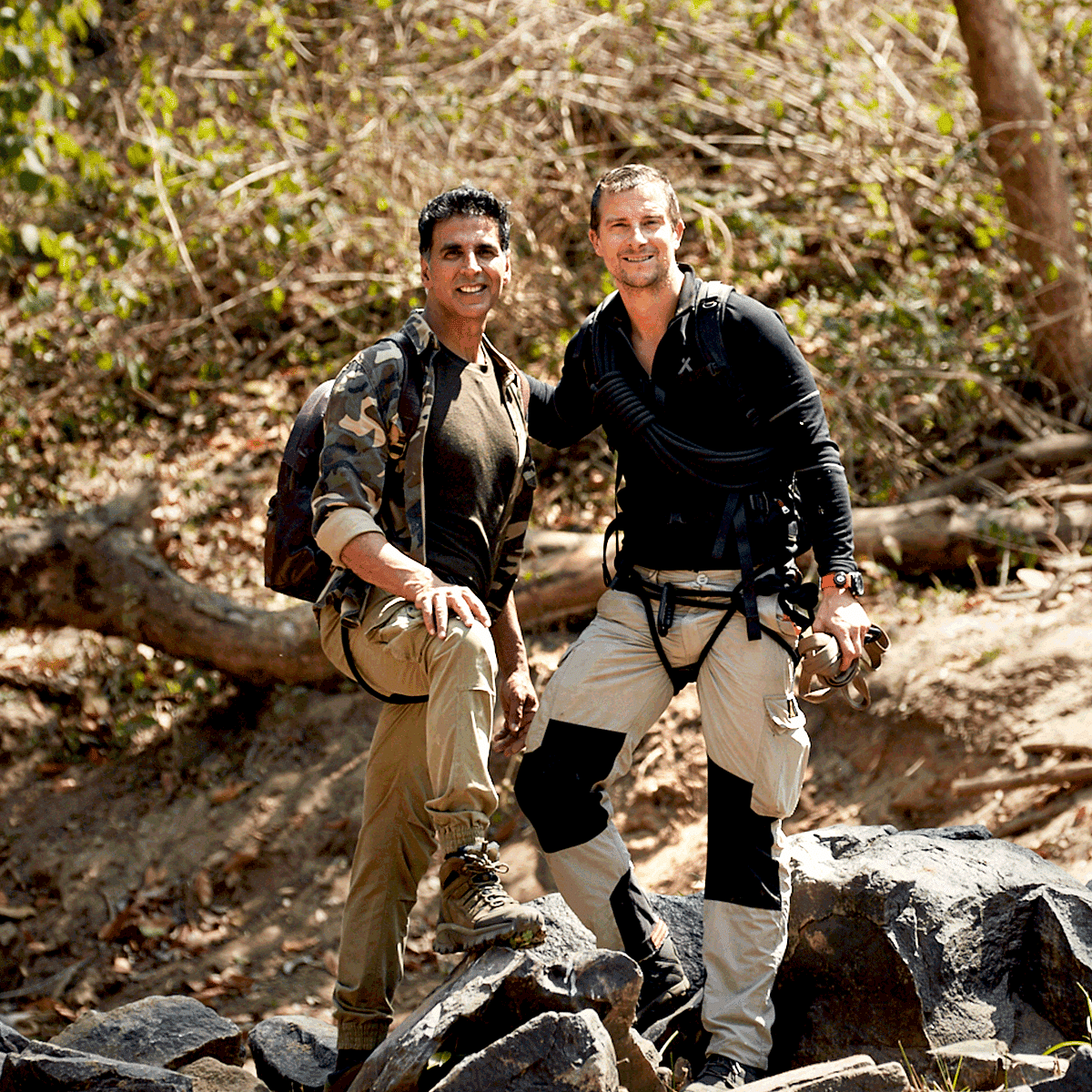 They Gave Me a Compass & Said Go Find Bear Grylls: Akshay Kumar