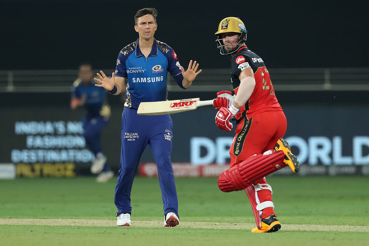 De Villiers smashed a half-century off 23 balls.