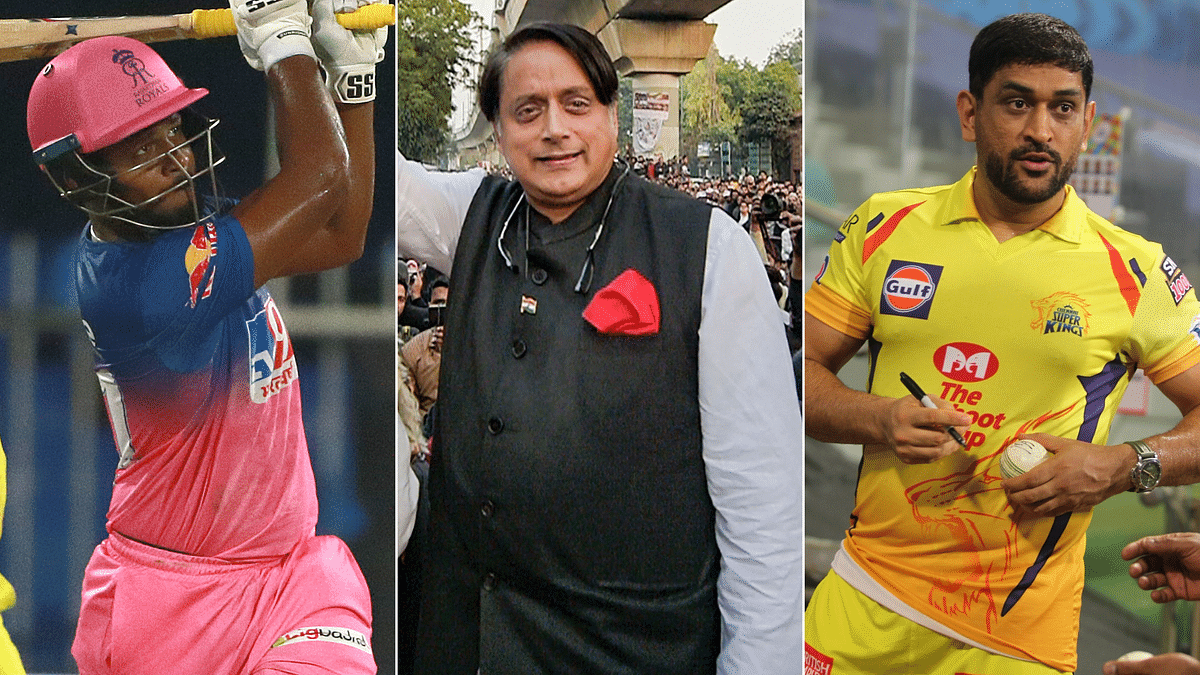 Shashi Tharoor says he told a 14-year-old Sanju Samson that he'd be the next MS Dhoni.