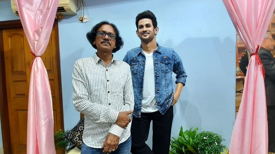 An artist from West Bengal, Sukanto Roy, has carved a wax statue of Sushant Singh Rajput