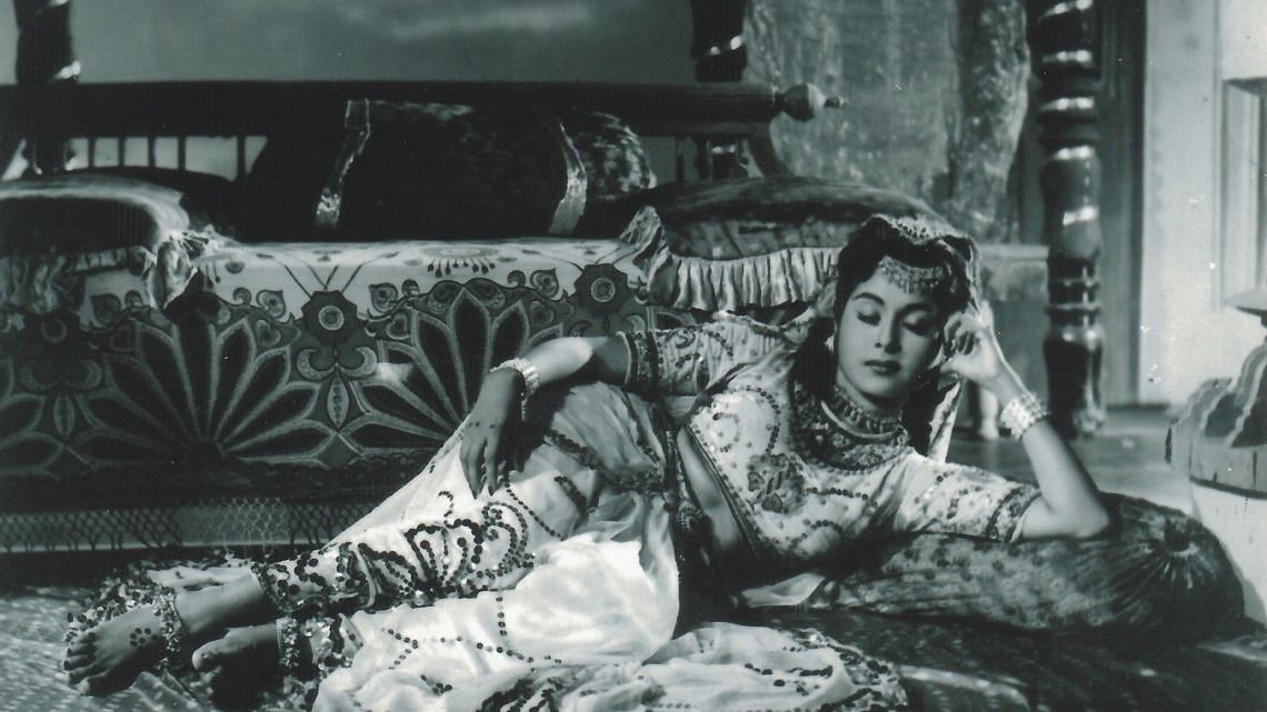 Smriti Biswas in a film from the 1950s.