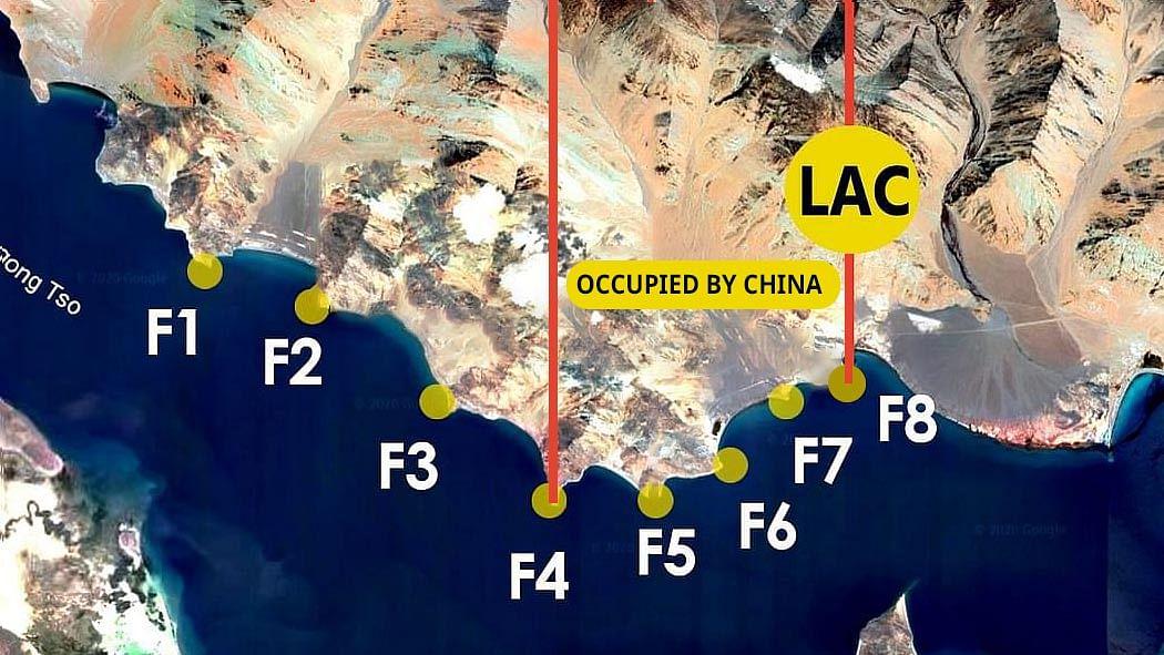 Chinese incursion at Pangong Tso