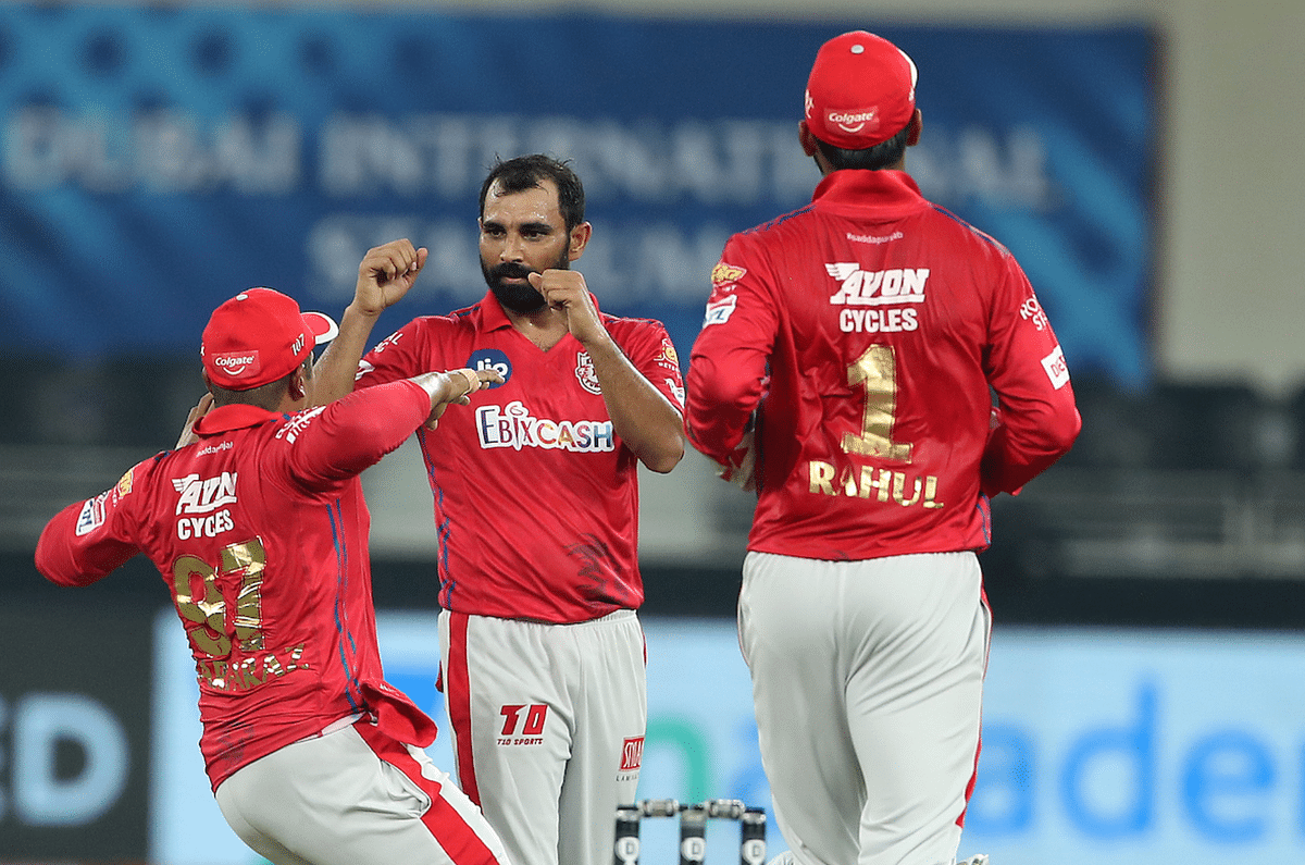 IPL 2020: Kings XI Punjab's Mohammed Shami returned with 3 for 15 against Delhi Capitals.