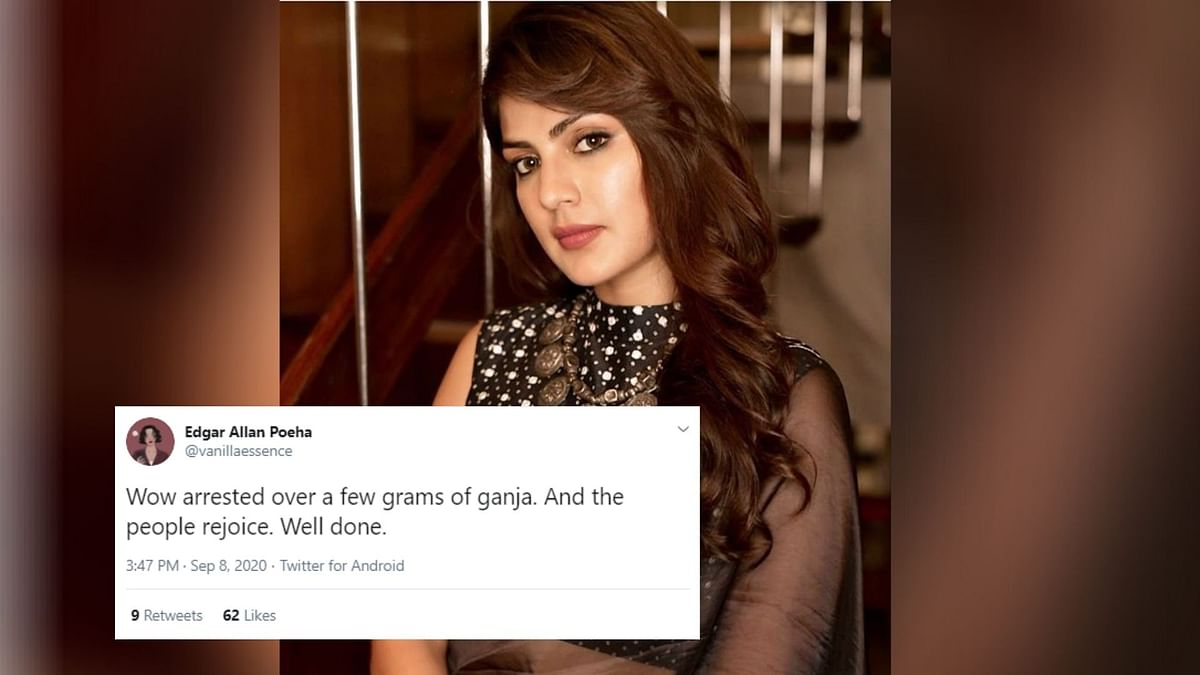 Netizens React to Rhea Chakraborty's Arrest by NCB In Sushant Case