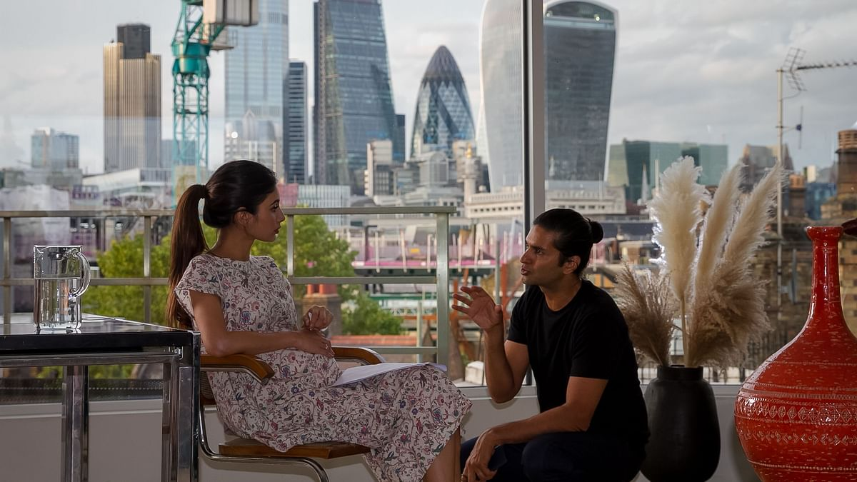 Mouni Roy and Purab Kohli play RAW agents in London Confidential.