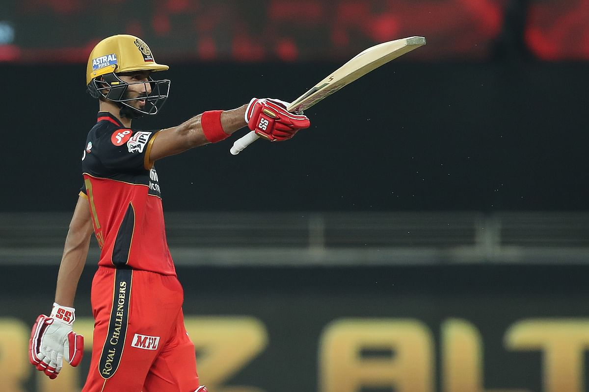 The 20-year-old Padikkal scored a half-century off 37 deliveries.
