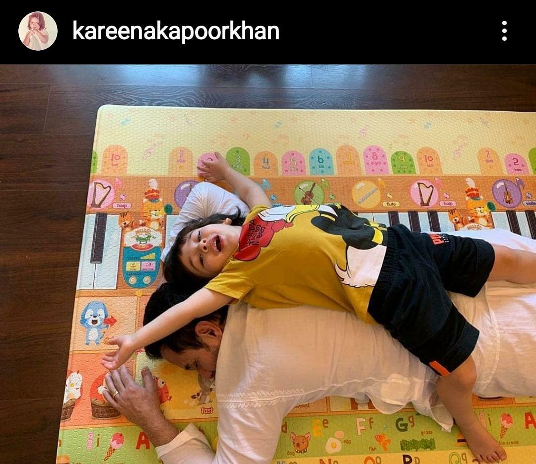 """Saif said, ""I always got your back""... Tim took it literally 🤣❤️"" - Kareena Kapoor Khan"