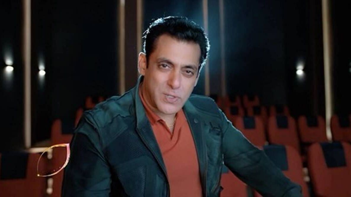 Salman Khan in Bigg Boss 14 promo. The new season will premier on Colors TV on 3 October at 9 PM.