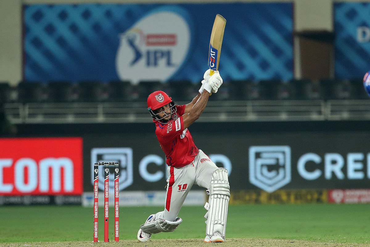 Mayank Agarwal smashed a 60-ball 89 but could not take Kings XI Punjab across the line.