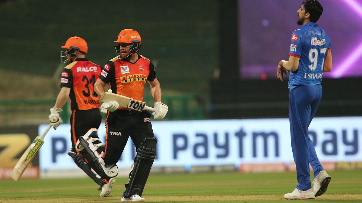 Warner, Bairstow, Williamson  Help SRH Set Delhi a Target of 163