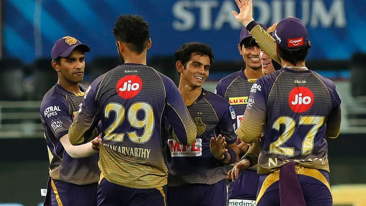 KKR's young bowlers help the team beat Rajasthan Royals on Wednesday night in Dubai.