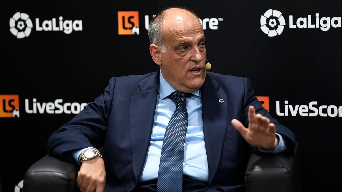 LaLiga President Javier Tebas said he hopes Lionel Messi ends his career at FC Barcelona.