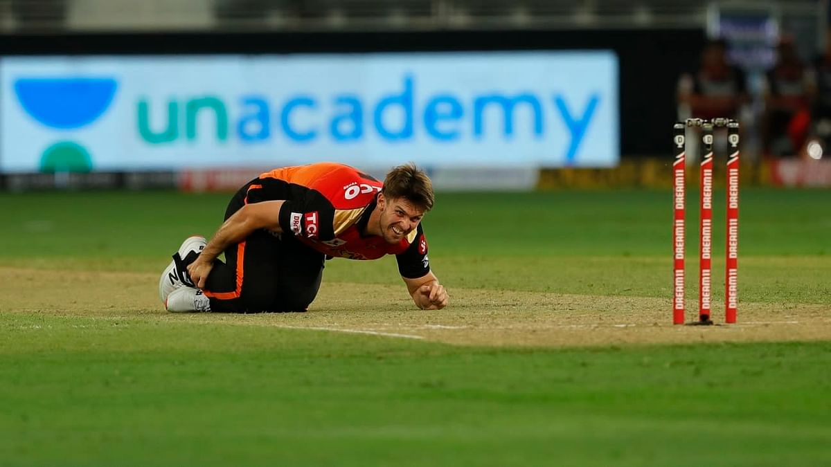 All-rounder Mitchell Marsh, whose career has been injury prone, twisted his ankle in only his first over against Royal Challengers Bangalore