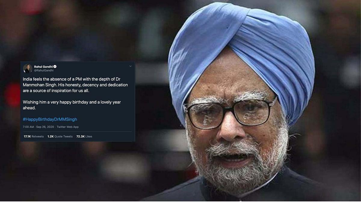 Former PM Manmohan Singh.