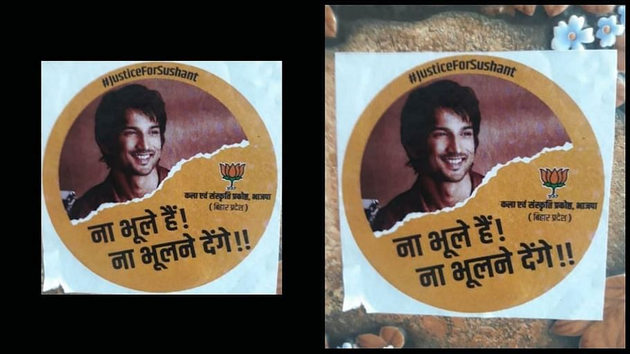 Ahead of Bihar Elections, BJP Prints 'Justice for Sushant' Posters