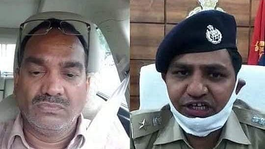 Indra Kant Tripathi and suspended SP Mani Lal Patidar