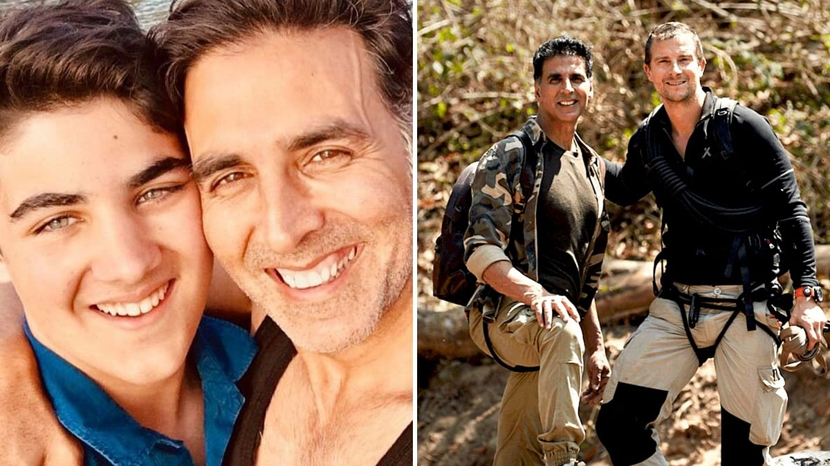 My Son Wants To Be Away From Limelight: Akshay Tells Bear Grylls