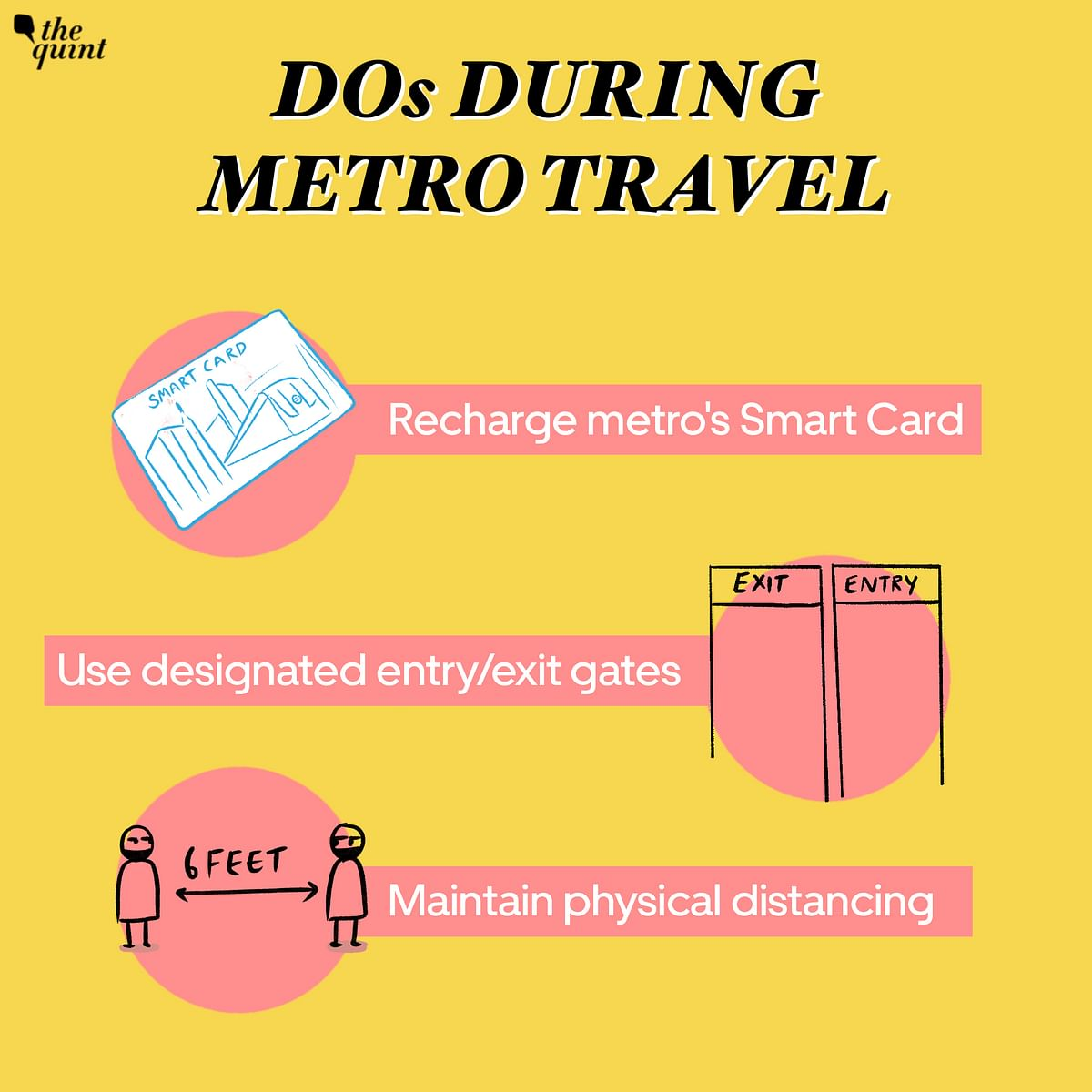 Wear Face Mask, Don't Skip Lines: Dos & Don'ts During Metro Travel